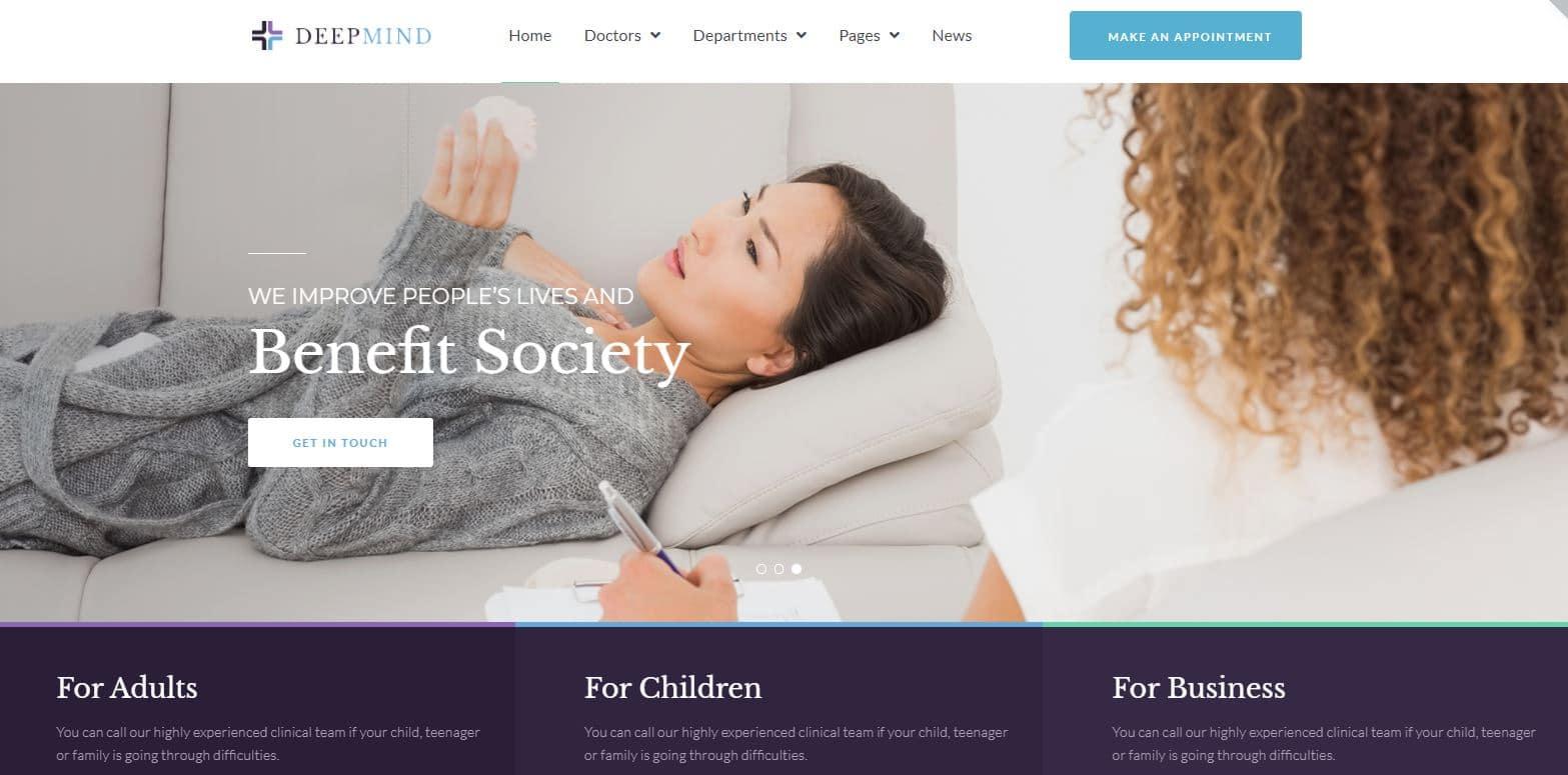 Diseño web para psicólogos