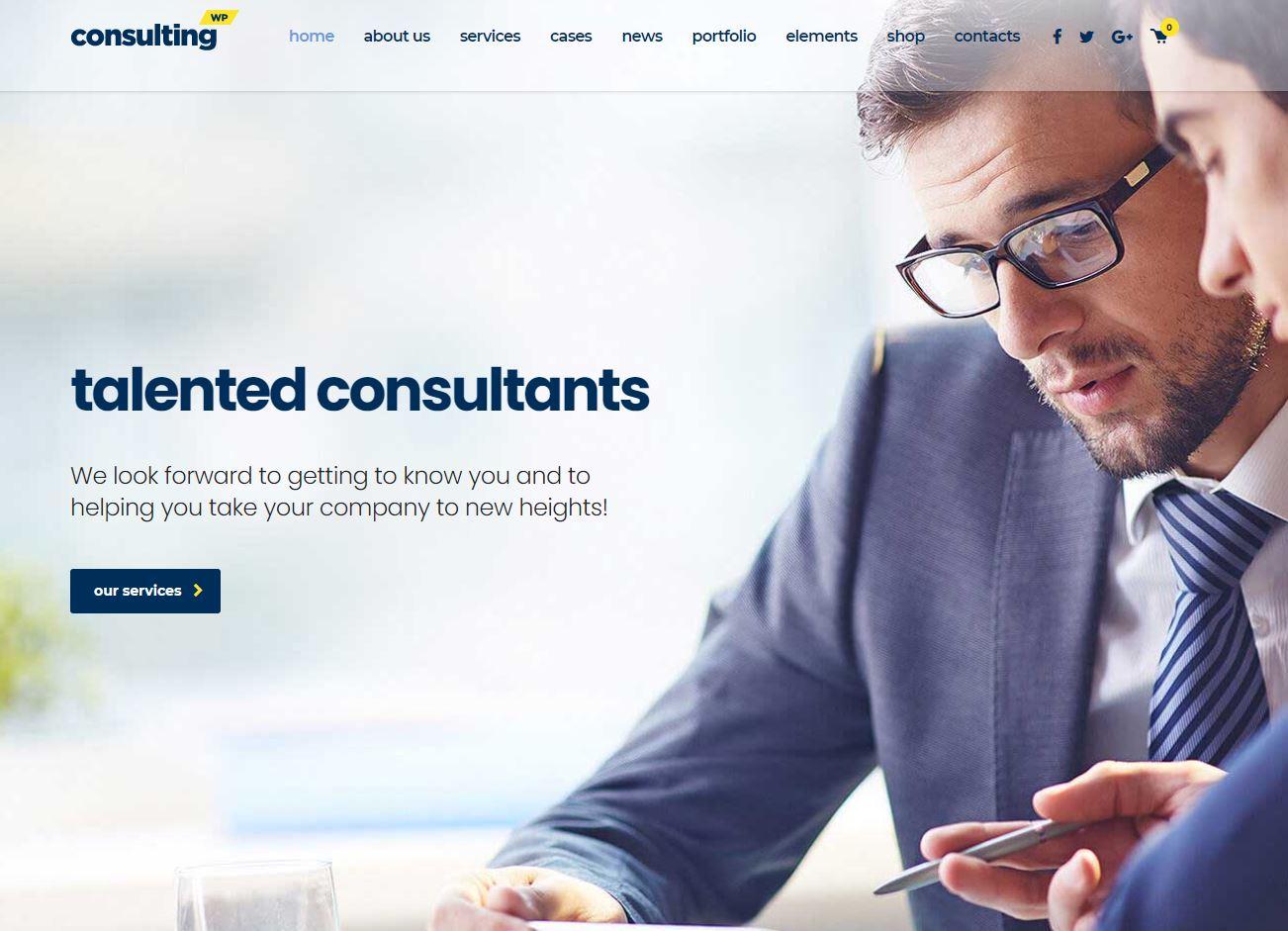 diseño web para consultores