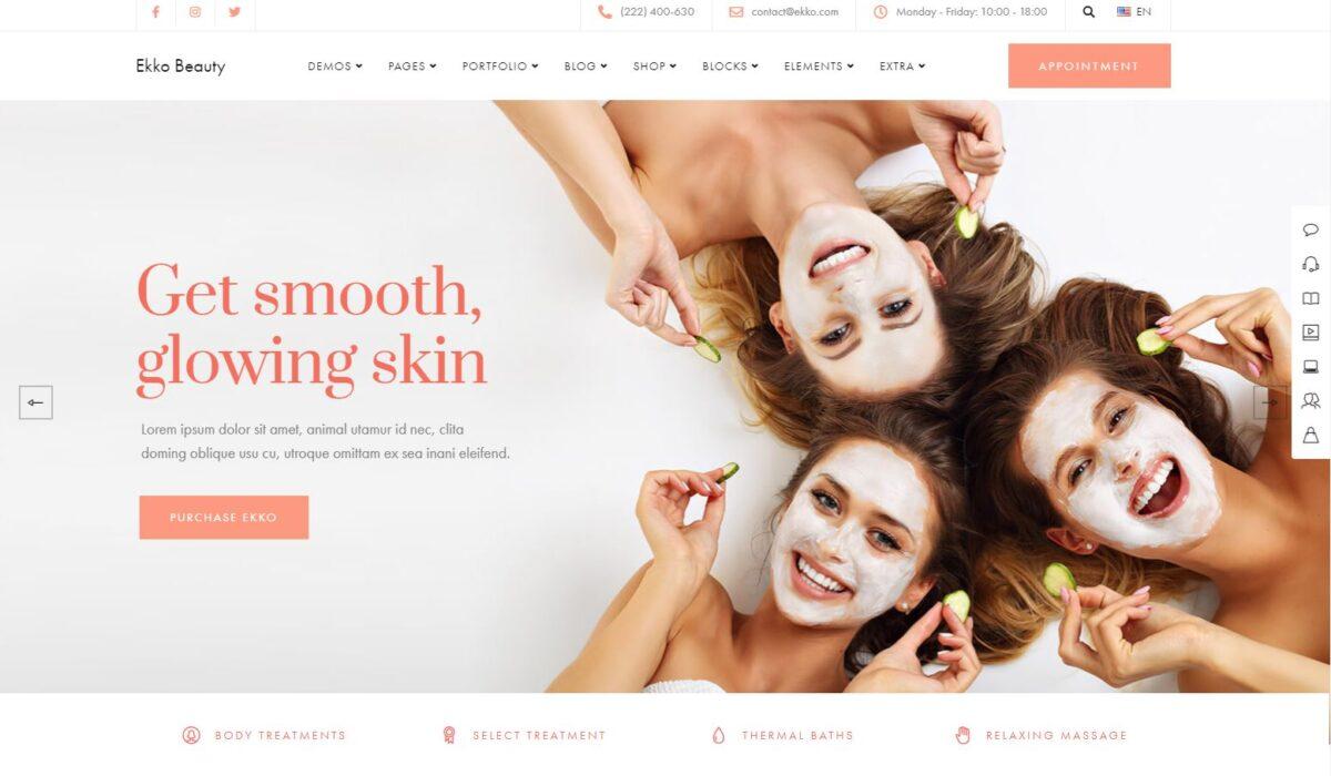 Diseño web para Centros de Estética